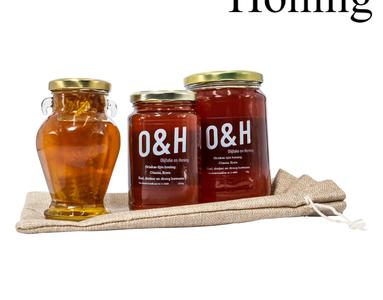 olijfolie en honing